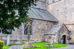 Cartmel Priory, Weddings, Funerals, Bagpiper, Bagpipes