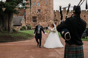 Cumbrian Weddings- With Bagpiper